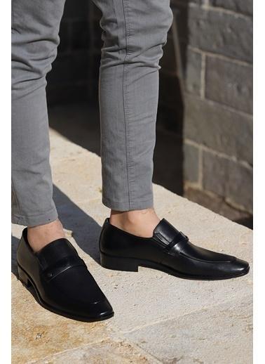 Ayakland Ayakland P507 %100 Deri Klasik Erkek Ayakkabı Siyah